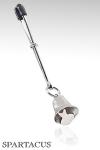 Pince clitoris Clochette - Pince ajustable ornée d'une clochette à fixer sur le clitoris.