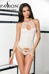 Body Mia - écru - Un joli body écru moulant aux fantaisies de dentelles pleines de charme.