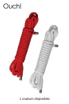Corde de soumission 10 m - 10 m de corde de bondage pour jouer à attacher l'autre et vous permettre toutes les fantaisies BDSM.