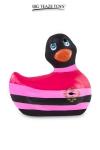 Mini canard vibrant Colors noir - Déclinaison à tête noire du célèbre canard vibrant dans la collection