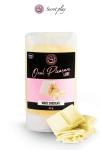 Lubrifiant comestible chocolat blanc - Lubrifiant 100% comestible au parfum chocolat blanc signé de la marque Espagnole Secret Play.