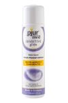 Lubrifiant Pjur Med Sensitive glide 100ml   - Lubrifiant naturel à base d'eau avec Ph neutre idéal pour les peaux sensibles, pour prendre soin et protéger son intimité.