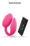 Oeuf vibrant Wonderlove - La marque Love to Love vous propose sa dernière innovation. Un oeuf vibrant à deux moteurs pour le clitoris et le point-G.