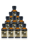 Pack 10 poppers Gold Rush 24 ml - Pack de 10 Flacons de 24 ml de Poppers Gold Rush, arôme liquide érotique à base de Nitrite de Pentyle.