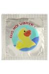 Préservatif humour - Fais Moi Vibrer - Préservatif