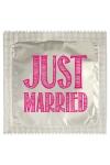 Préservatif humour - Just Married - Préservatif