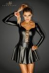Mini robe Egoist - Mini robe super sexy au buste moulant largement décolleté, et sa jupe courte évasée.